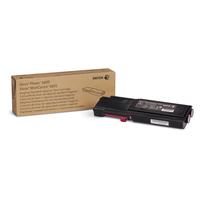 Xerox cartridge: Phaser 6600/WorkCentre 6605 Standaard tonercartridge magenta (2.000 pagina's)