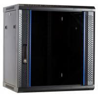 Ds-it rack: 12U wandkast met glazen deur 600x450x635mm