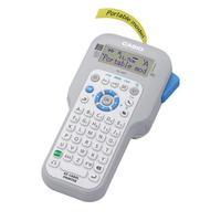 Casio LCD (96x36), 200 dpi, 10mm/sec, 60 logos, 8 Languages - ABC Labelprinter - Wit