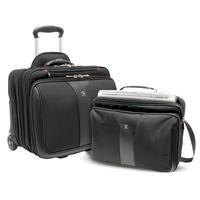 "Wenger/SwissGear laptoptas: PATRIOT 17"" 2-Piece Business Set with Telescopic Trolley Handle, Overnight Compartment, ....."