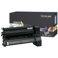Lexmark toner: C752(L), C76x 6K gele printcartridge - Geel