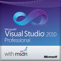 Microsoft software licentie: Visual Studio 2010 Professional w/ MSDN, OLP-C, SA, ML