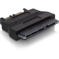 DeLOCK kabel adapter: Adapter SATA - Zwart