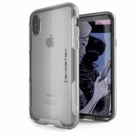 Ghostek Cloak 3 Protective Case Apple iPhone X Silver mobile phone case - Zilver