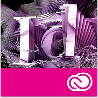 Adobe software licentie: InDesign CC - Engels - 1 jaar
