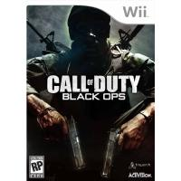 Activision game: Call of Duty: Black OPS 2, Wii