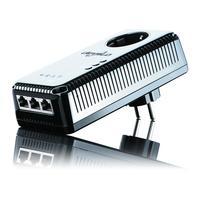 Devolo powerline adapter: dLAN pro 500 Wireless+ Starter Kit - Zwart