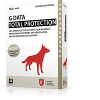 G DATA software: Total Protection, 1PC, 1 Year, Box