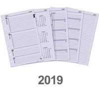 Kalpa schrijfblok: Senior organizer-vulling week-agenda 2019