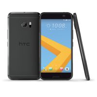 HTC smartphone: 10 - 32GB 4G 5.2'' - Carbon Gray - Zwart, Grijs