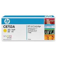 HP inktcartridge: C8753A Yellow Original Ink Cartridge - Geel