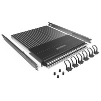 PATCHBOX Plus+ STP Patch panel - Zwart