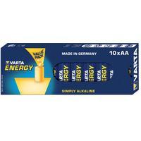 Varta batterij: 10x AA 4106 - Blauw