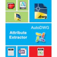 AutoDWG Attribute Extractor 2017 licentie single user