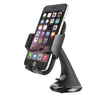 Trust houder: Hoogwaardige smartphonehouder voor in de auto - Zwart