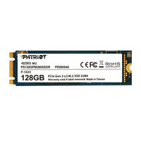 Patriot Memory SSD: Scorch M.2 - Blauw, Wit
