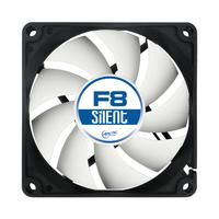 ARCTIC Hardware koeling: F8 Silent 3-Pin fan with standard case - Zwart, Wit