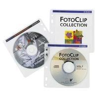Hama : CD-ROM Pockets 100 - Transparant