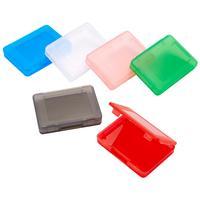Bigben Interactive spel accessoire: 6 Game Card Cases voor Nintendo Switch - Zwart, Blauw, Groen, Roze, Rood, Wit