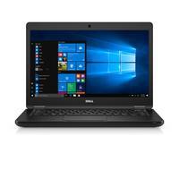 DELL laptop: Latitude 5480 - Core i5 - 8GB RAM - 128GB - Zwart