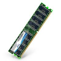 ADATA RAM-geheugen: AD1U400A1G3-R, 1GB DDR, 184-pin DIMM, 400MHz, Non-ECC