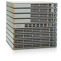 Allied Telesis switch: 24 Port Gigabit Advanged Layer 3 Switch w/ 4 SFP - Grijs