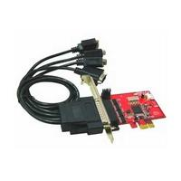 LyCOM 4Ports RS232, 5V DC output Low Profile PCIe Host Adapter Interfaceadapter