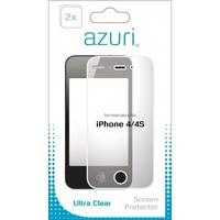 Azuri screen protector: Ultra clear Apple iPhone 4 - Transparant
