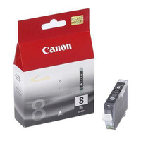 Canon inktcartridge: CLI-8 BK w/Sec - Zwart