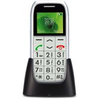 Profoon PM-595 mobiele telefoon - Zilver