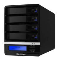 Raidon NAS: GR5630-WSB3+ - Zwart