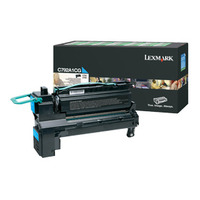 Lexmark toner: C792, X792 6K cyaan retourprogr. printcartr