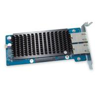 QNAP netwerkkaart: LAN-10G2T-U, Dual-port 10 Gigabit Network Expansion Card, Applied Model: .....