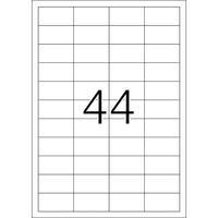 HERMA etiket: Etiketten wit 48,3x25,4 Premium A4 1100 st.