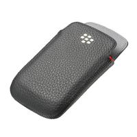 BlackBerry mobile phone case: Bold 9790 Leather Pocket - Zwart
