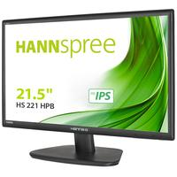 "Hannspree monitor: Hanns.G 54.61 cm (21.5 "") , 1920 x1080, 16:9, 1000:1, 250cd/m2, 5ms, 16.7M, D-Sub, DVI-D, HDMI, 30 ....."