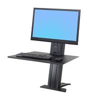 Ergotron monitorarm: WorkFit SR - Zwart