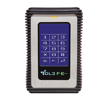 DataLocker DL3 FE Externe harde schijf - Zwart, Metallic