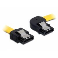 DeLOCK ATA kabel: 0.5m SATA M/M - Geel