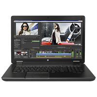 HP laptop: ZBook 17 G2 - Intel Core i7 - Zwart