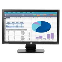 HP monitor: ProDisplay P202 20-inch monitor - Zwart (Approved Selection One Refurbished)