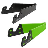 LogiLink houder: Folding Smartphone and Tablet Holder - Zwart, Groen