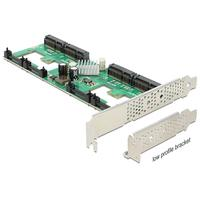 DeLOCK interfaceadapter: PCI Express Card > 4 x internal mSATA with RAID