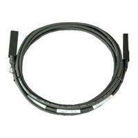DELL kabel: 5M SFP Direct Attach twinaxiaal kabel - kit - Zwart