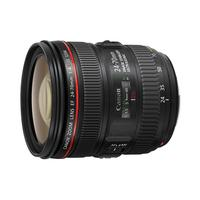 Canon camera lens: EF 24-70mm f/4L IS USM - Zwart