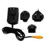MicroMobile oplader: AC adapter, black, MicroUSB - Zwart