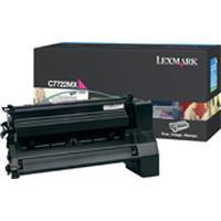 Lexmark toner: C772, X772e 15K magenta printcartridge