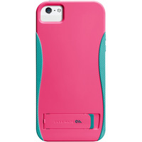 Case-mate mobile phone case: Pop! iPhone 5 - Blauw, Roze