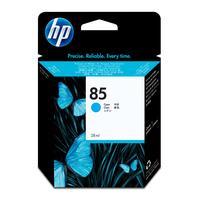 HP inktcartridge: 85 cyaan DesignJet inktcartridge, 28 ml