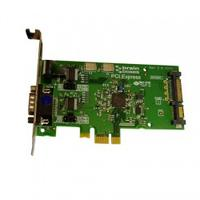 Brainboxes interfaceadapter: 1 x RS232, 9 Pin (M), PCI Express - Groen